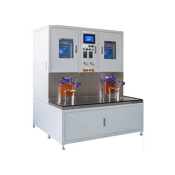 Induction heating double station automatic welding equipment