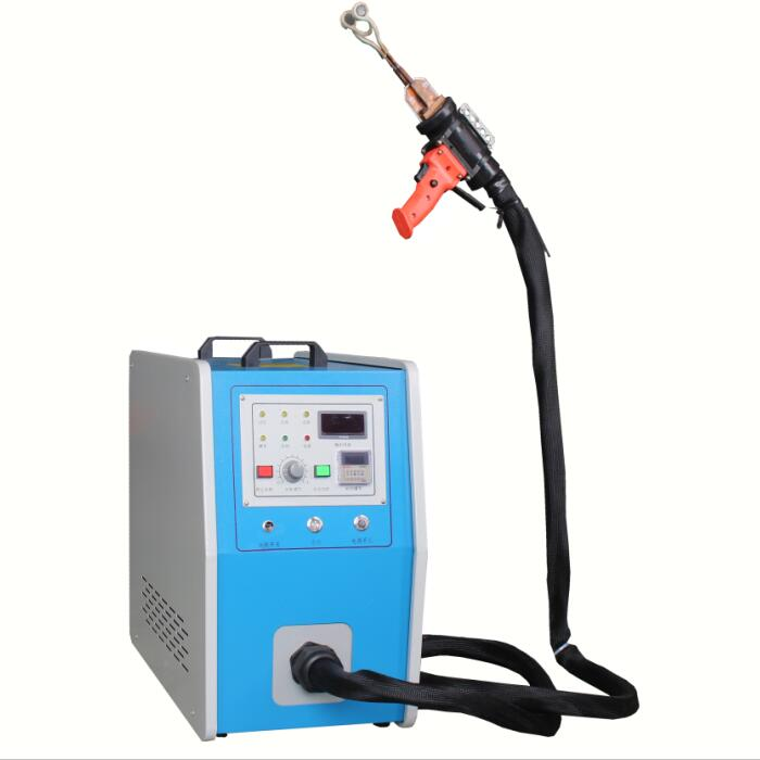 blue Induction heating handheld small induction heating equipment